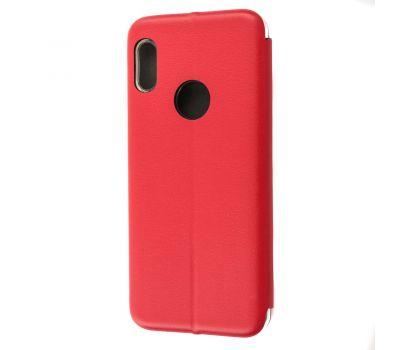 Чехол книжка для Xiaomi Redmi Note 5 / Note 5 Pro Premium красный 113614