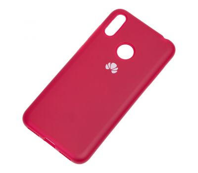Чехол для Huawei Y7 2019 Silicone Full розово-красный 1145315