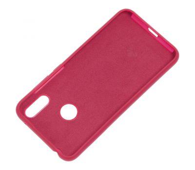 Чехол для Huawei Y7 2019 Silicone Full розово-красный 1145316