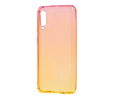 Чехол для Samsung Galaxy A50 / A50s / A30s Gradient Design красно-желтый