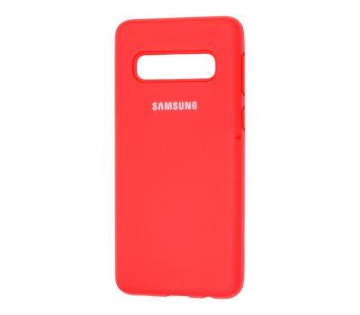 Чехол для Samsung Galaxy S10 (G973) Silicone Full красный 1231406