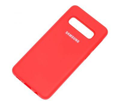 Чехол для Samsung Galaxy S10 (G973) Silicone Full красный 1231407