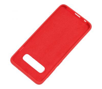 Чехол для Samsung Galaxy S10 (G973) Silicone Full красный 1231408
