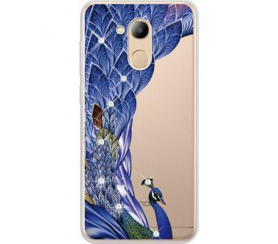 Силиконовый чехол BoxFace Huawei Honor 6C Pro Peafowl (934984-rs7)