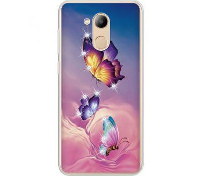 Силиконовый чехол BoxFace Huawei Honor 6C Pro Butterflies (934984-rs19)