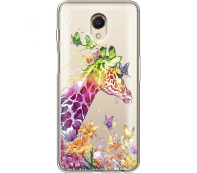 Силиконовый чехол BoxFace Meizu M6s Colorful Giraffe (35011-cc14)