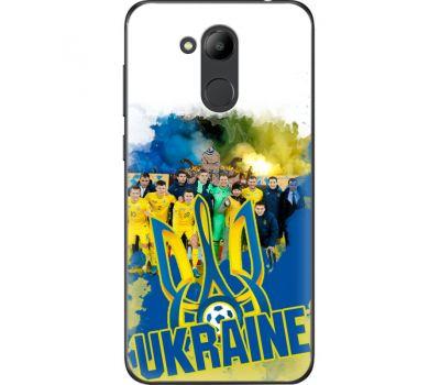 Силиконовый чехол Remax Huawei Honor 6C Pro Ukraine national team