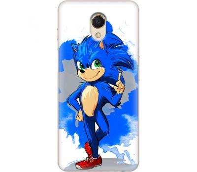 Силиконовый чехол Remax Meizu M6s Sonic Blue