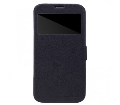 Кожаный чехол (книжка) Nillkin Fresh Series для Samsung i9200 Galaxy Mega 6.3 черный 1381346