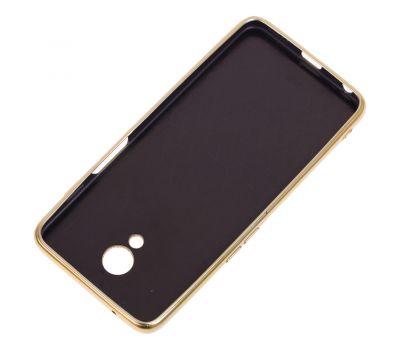Чехол для Meizu M6s Shining sparkles с блестками золотистый 1478329