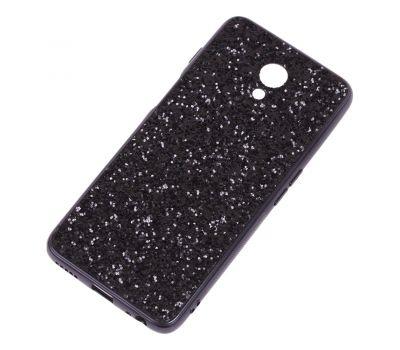 Чехол для Meizu M6s Shining sparkles с блестками черный 1521644