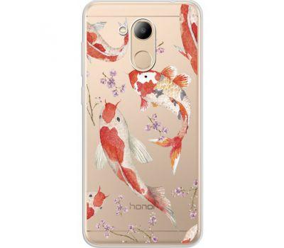 Силиконовый чехол BoxFace Huawei Honor 6C Pro Japanese Koi Fish (34984-cc3)