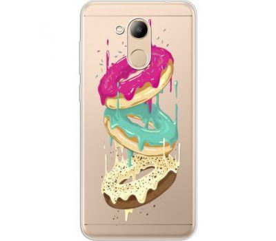 Силиконовый чехол BoxFace Huawei Honor 6C Pro Donuts (34984-cc7)