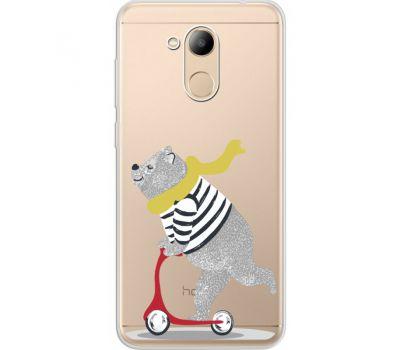 Силиконовый чехол BoxFace Huawei Honor 6C Pro Happy Bear (34984-cc10)