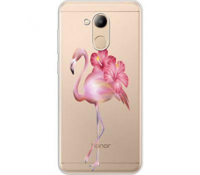 Силиконовый чехол BoxFace Huawei Honor 6C Pro Floral Flamingo (34984-cc12)