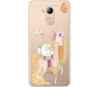 Силиконовый чехол BoxFace Huawei Honor 6C Pro Uni Blonde (34984-cc26)