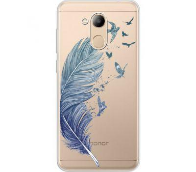 Силиконовый чехол BoxFace Huawei Honor 6C Pro Feather (34984-cc38)