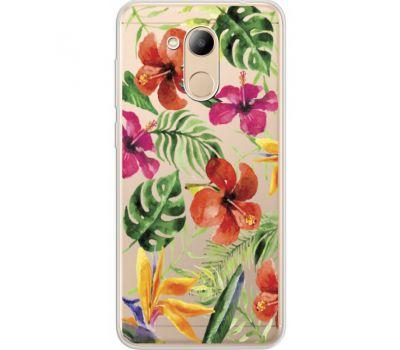 Силиконовый чехол BoxFace Huawei Honor 6C Pro Tropical Flowers (34984-cc43)