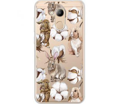 Силиконовый чехол BoxFace Huawei Honor 6C Pro Cotton and Rabbits (34984-cc49)