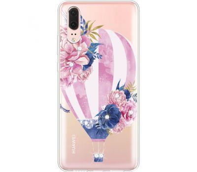 Силиконовый чехол BoxFace Huawei P20 Pink Air Baloon (935581-rs6)