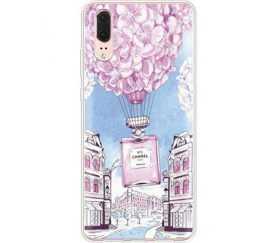 Силиконовый чехол BoxFace Huawei P20 Perfume bottle (935581-rs15)