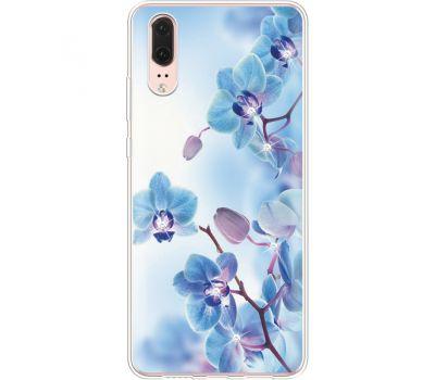 Силиконовый чехол BoxFace Huawei P20 Orchids (935581-rs16)