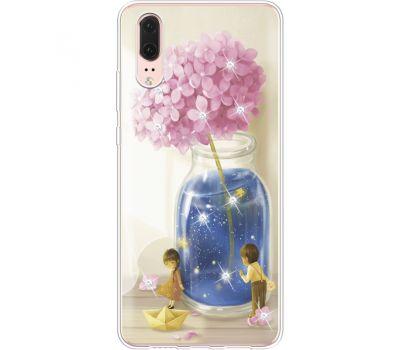 Силиконовый чехол BoxFace Huawei P20 Little Boy and Girl (935581-rs18)