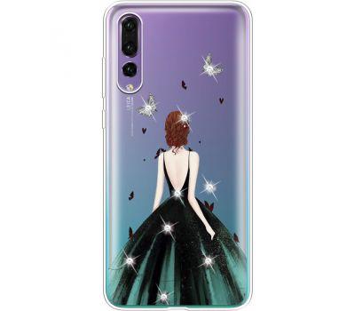 Силиконовый чехол BoxFace Huawei P20 Pro Girl in the green dress (936195-rs13)