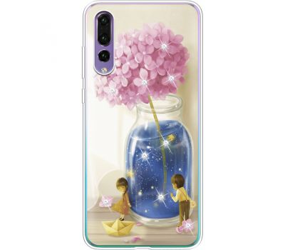 Силиконовый чехол BoxFace Huawei P20 Pro Little Boy and Girl (936195-rs18)
