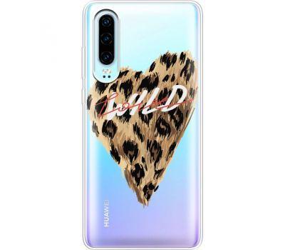 Силиконовый чехол BoxFace Huawei P30 Wild Love (36852-cc64)