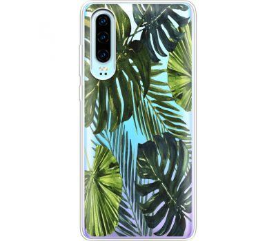 Силиконовый чехол BoxFace Huawei P30 Palm Tree (36852-cc9)