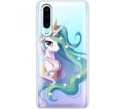 Силиконовый чехол BoxFace Huawei P30 Unicorn Queen (936852-rs3)