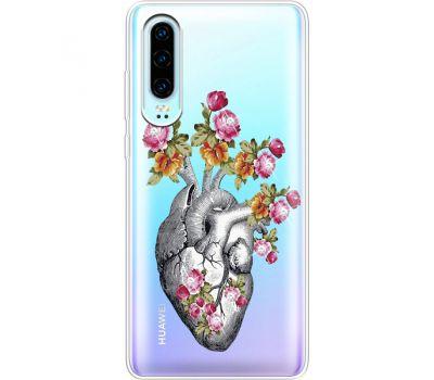 Силиконовый чехол BoxFace Huawei P30 Heart (936852-rs11)