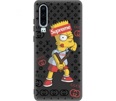 Силиконовый чехол BoxFace Huawei P30 Yellow Fun (37049-bk44)