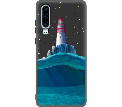 Силиконовый чехол BoxFace Huawei P30 Lighthouse (37049-bk58)
