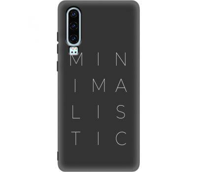 Силиконовый чехол BoxFace Huawei P30 (37049-bk59)