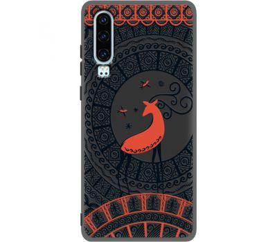 Силиконовый чехол BoxFace Huawei P30 Ornament (37049-bk66)