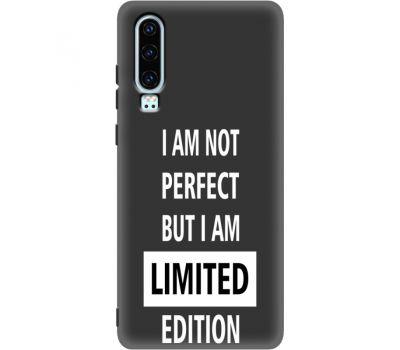Силиконовый чехол BoxFace Huawei P30 limited edition (37049-bk73)