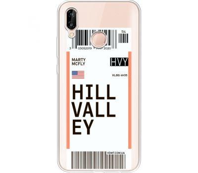Силиконовый чехол BoxFace Huawei P20 Lite Ticket Hill Valley (34991-cc94)