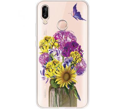 Силиконовый чехол BoxFace Huawei P20 Lite My Bouquet (34991-cc20)