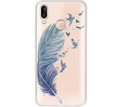 Силиконовый чехол BoxFace Huawei P20 Lite Feather (34991-cc38)