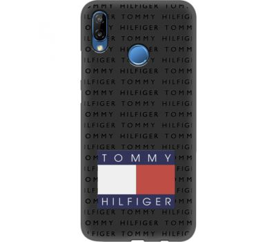 Силиконовый чехол BoxFace Huawei P20 Lite Tommy Print (35158-bk47)