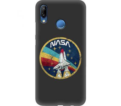 Силиконовый чехол BoxFace Huawei P20 Lite NASA (35158-bk70)