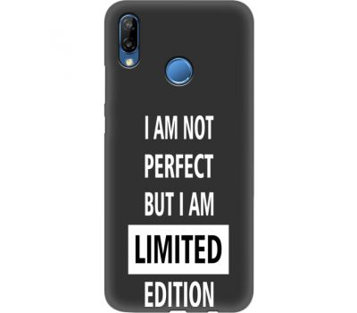Силиконовый чехол BoxFace Huawei P20 Lite limited edition (35158-bk73)