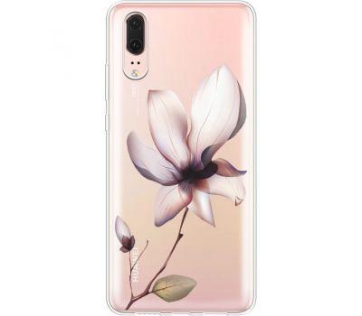 Силиконовый чехол BoxFace Huawei P20 Magnolia (35581-cc8)