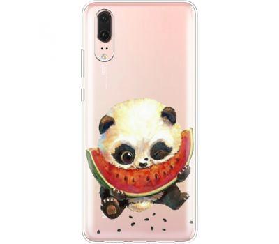 Силиконовый чехол BoxFace Huawei P20 Little Panda (35581-cc21)