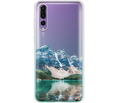 Силиконовый чехол BoxFace Huawei P20 Pro Blue Mountain (36195-cc68)