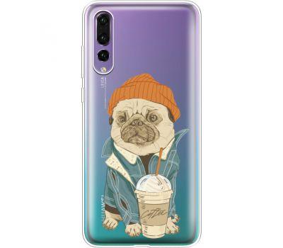 Силиконовый чехол BoxFace Huawei P20 Pro Dog Coffeeman (36195-cc70)