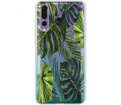 Силиконовый чехол BoxFace Huawei P20 Pro Palm Tree (36195-cc9)