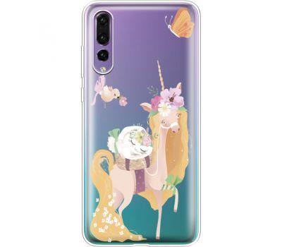 Силиконовый чехол BoxFace Huawei P20 Pro Uni Blonde (36195-cc26)
